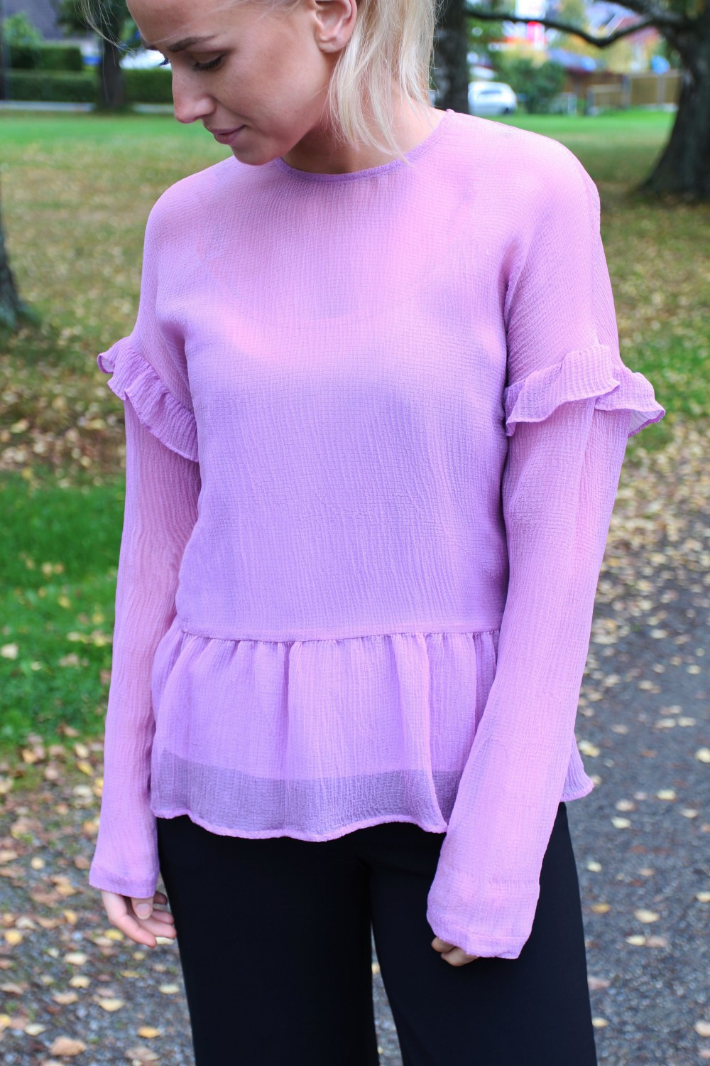 Custommade Taia Shirt Lavendel