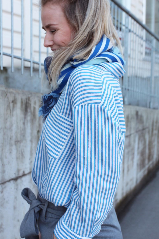 Iben Naom Shirt Spark Blue