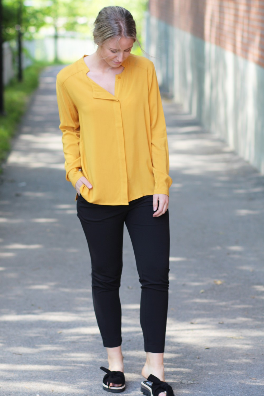 Iben Robin Shirt Saffron