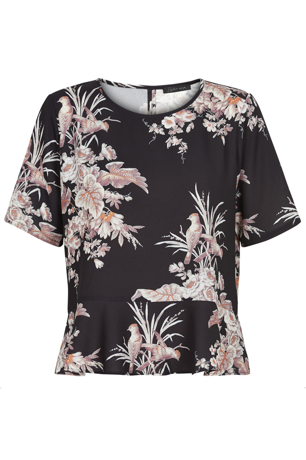 Stella Nova Bird Flower Blouse