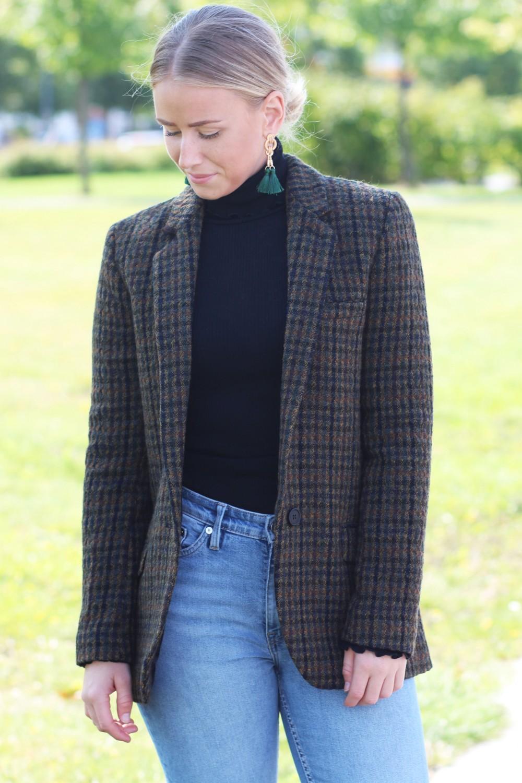 Stella Nova Autumn Checked Blazer