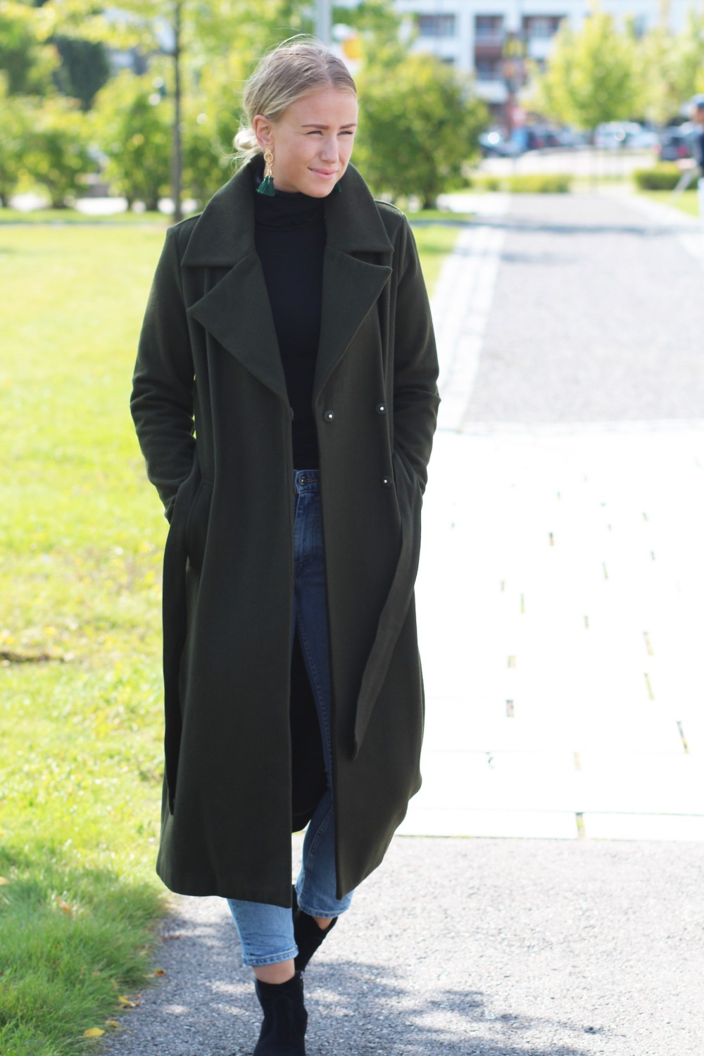 Just Female Sette Wool Coat