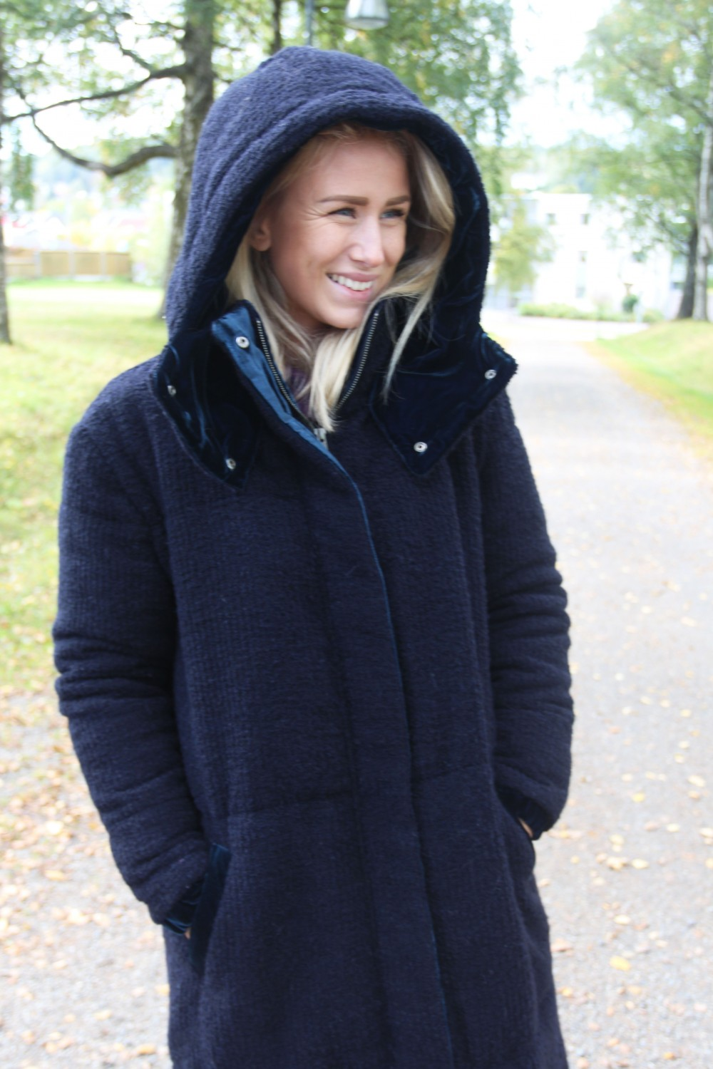 Iben Snorre Coat Night
