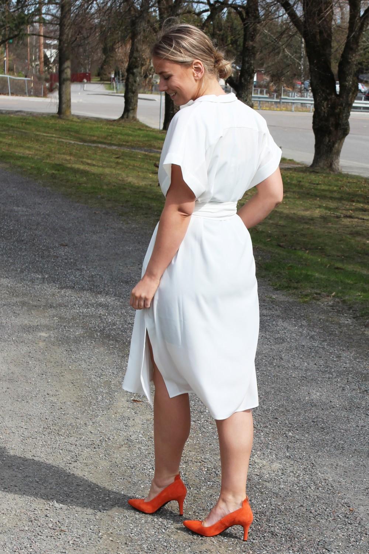 Billie & Me Adrie Shirt Dress White