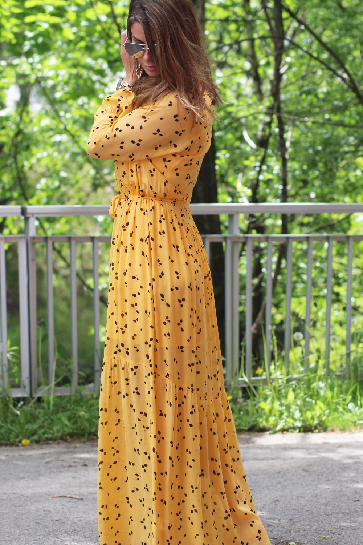 Custommade Katy Dress Golden Cream