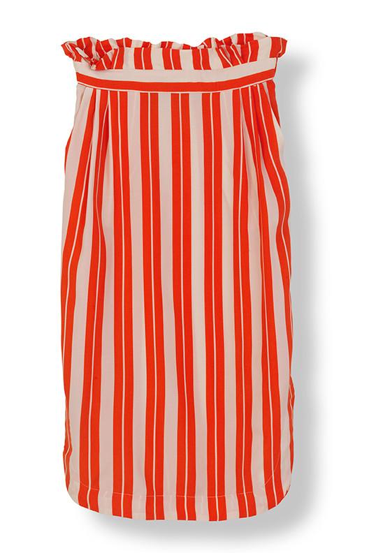 Stella Nova Cupro Stripe Skirt