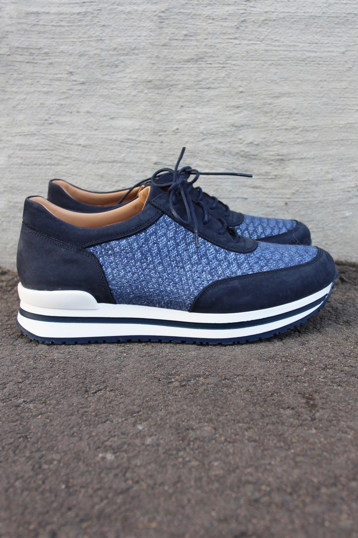 Laura Bellariva Nabuk Canvas Sneakers