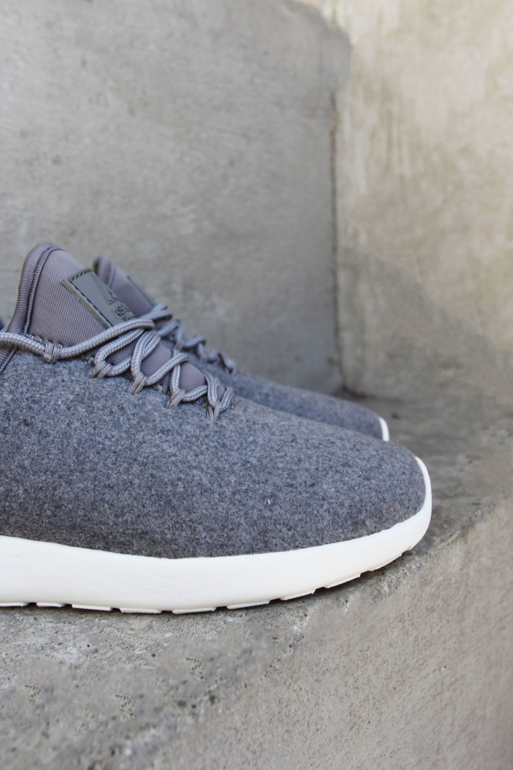 9087909d Asfvlt Speed Sock Grey Wool | More Than Shoes