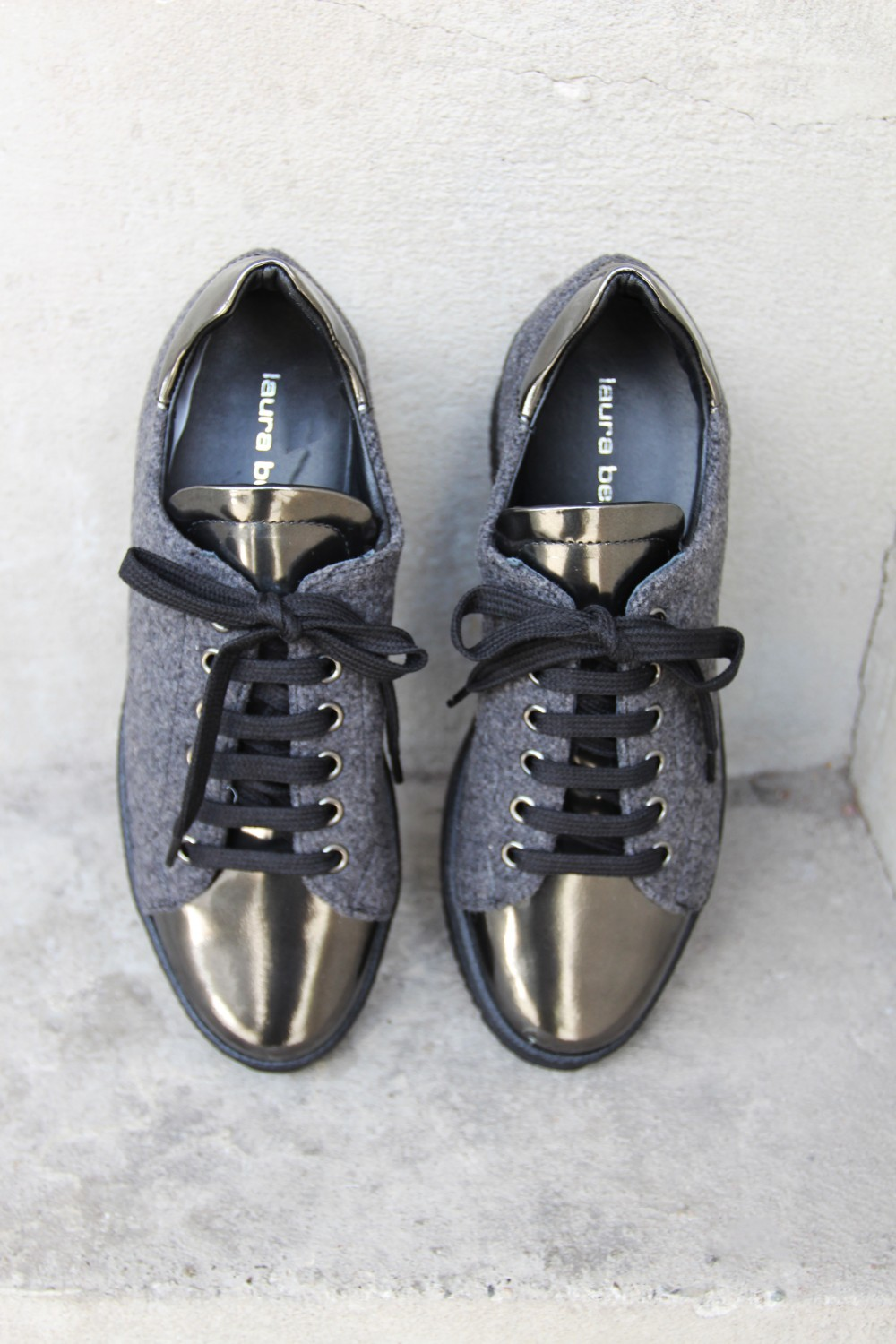 Laura Bellariva Metal Nero Grey