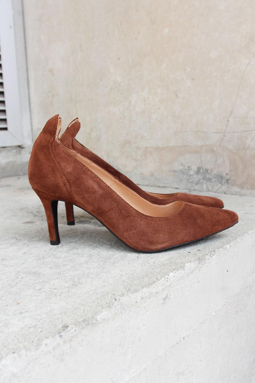 Front Society Shoes Pumps Cognac