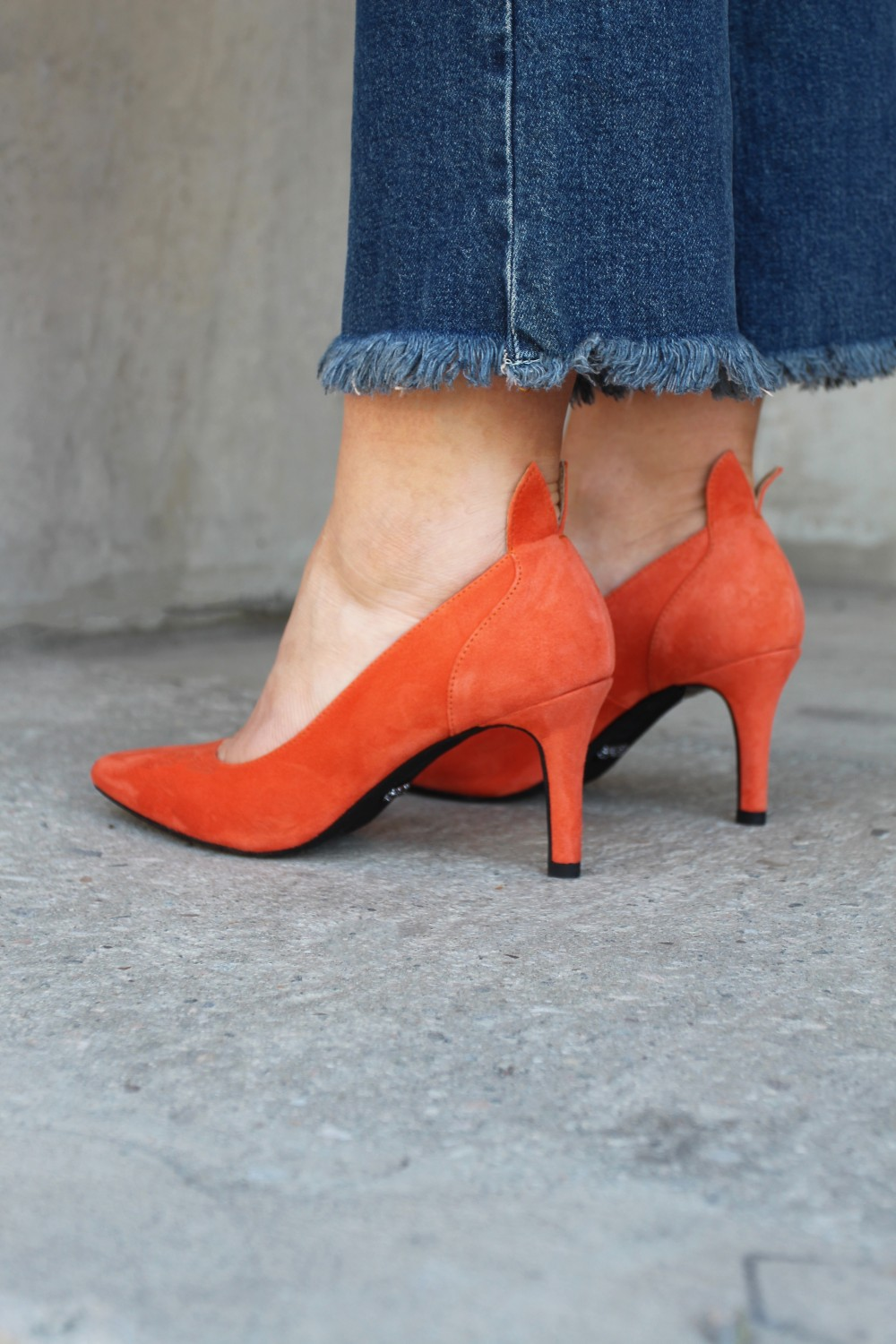 Front Society Shoes Pumps Orange