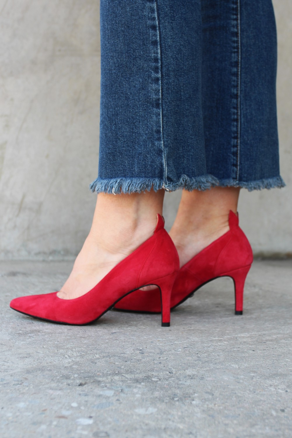 Front Society Shoes Red Pumps
