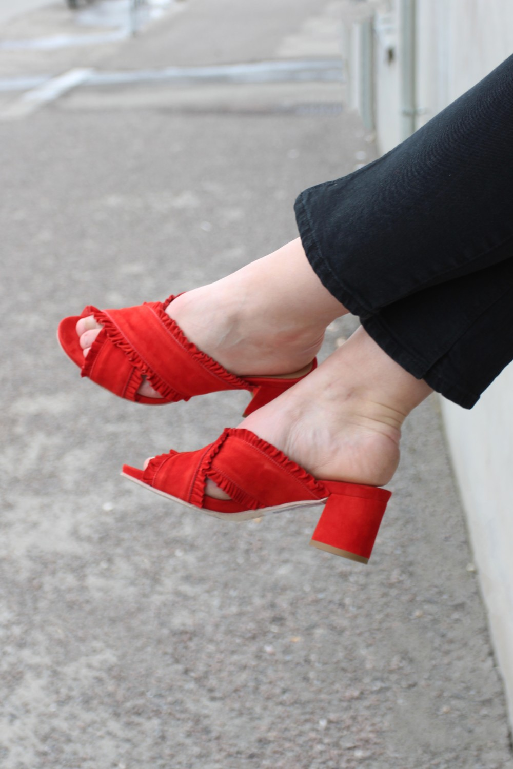 Laura Bellariva Striss Rosso Red
