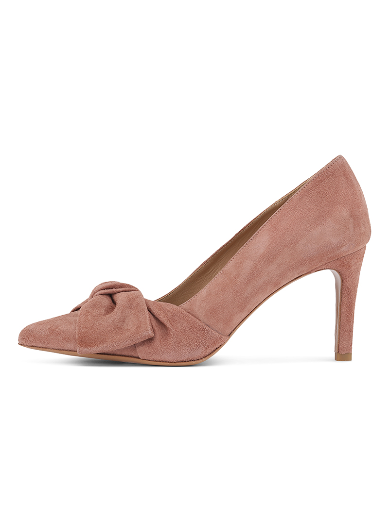 Custommade Martine Bow Pumps Rose