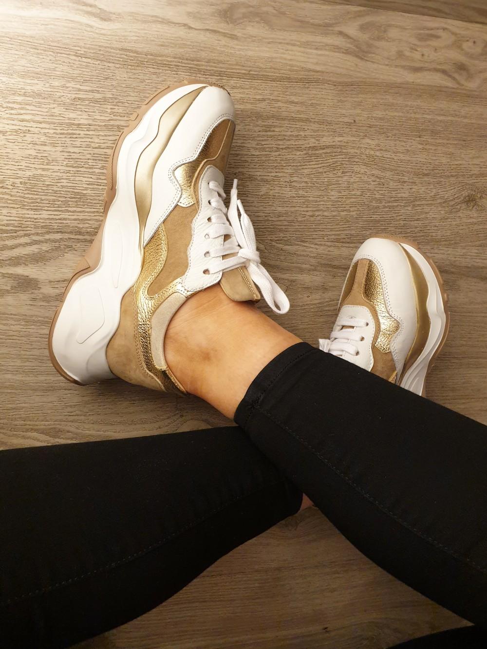 Laura Bellariva Alce White Zeus Gold