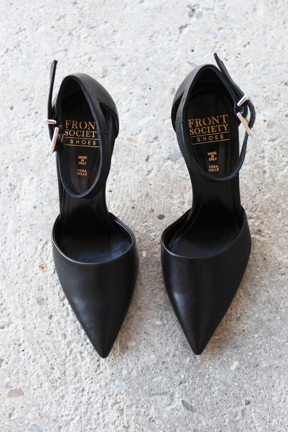 Front Society Shoes Parma Black