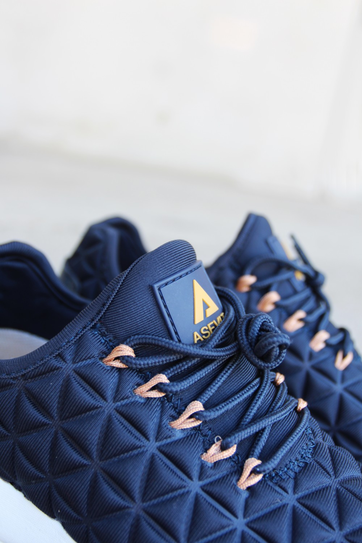 Asfvlt Speed Sock Blue