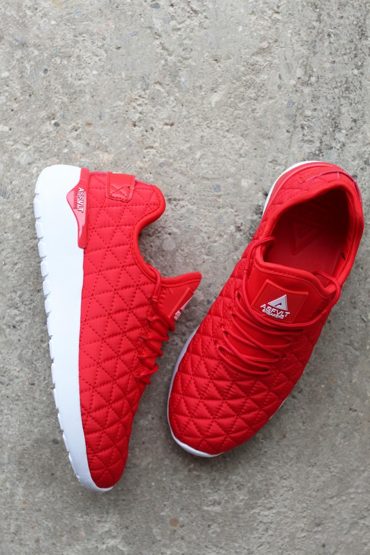 Asfvlt Speed Sock Red