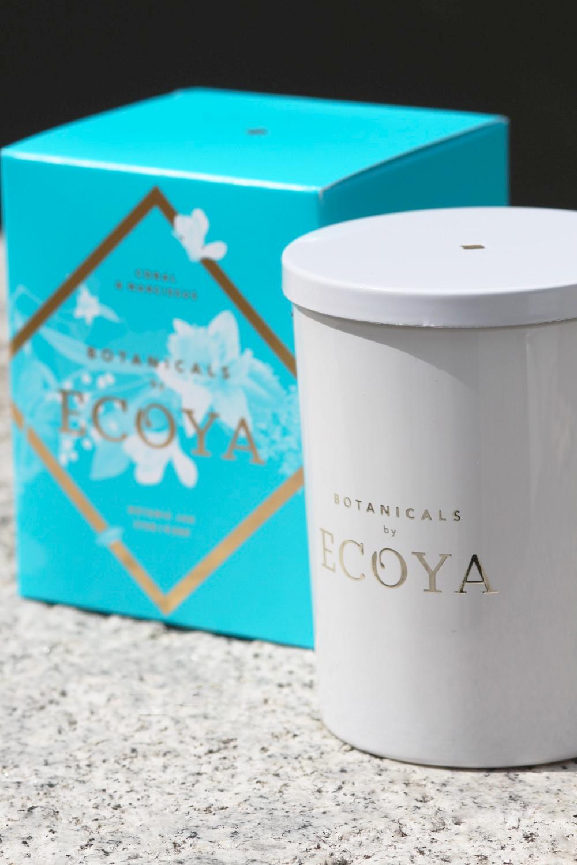 Ecoya Coral & Narcissus Botanic Jar