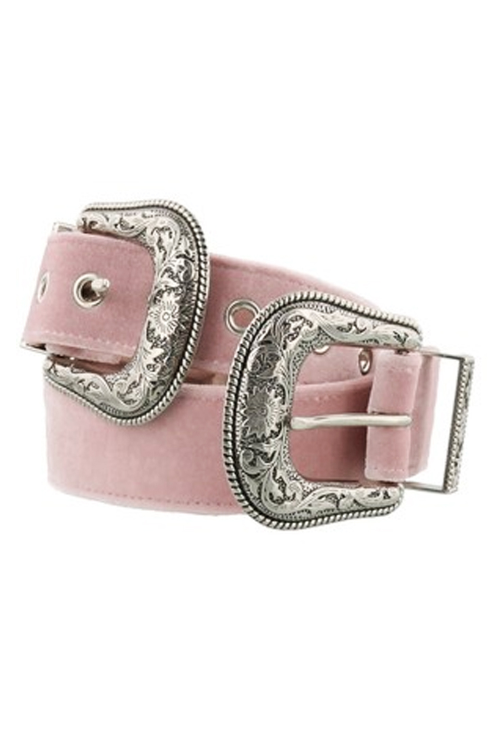 B- LOW THE BELT Baby Bri Bri Velvet Pink
