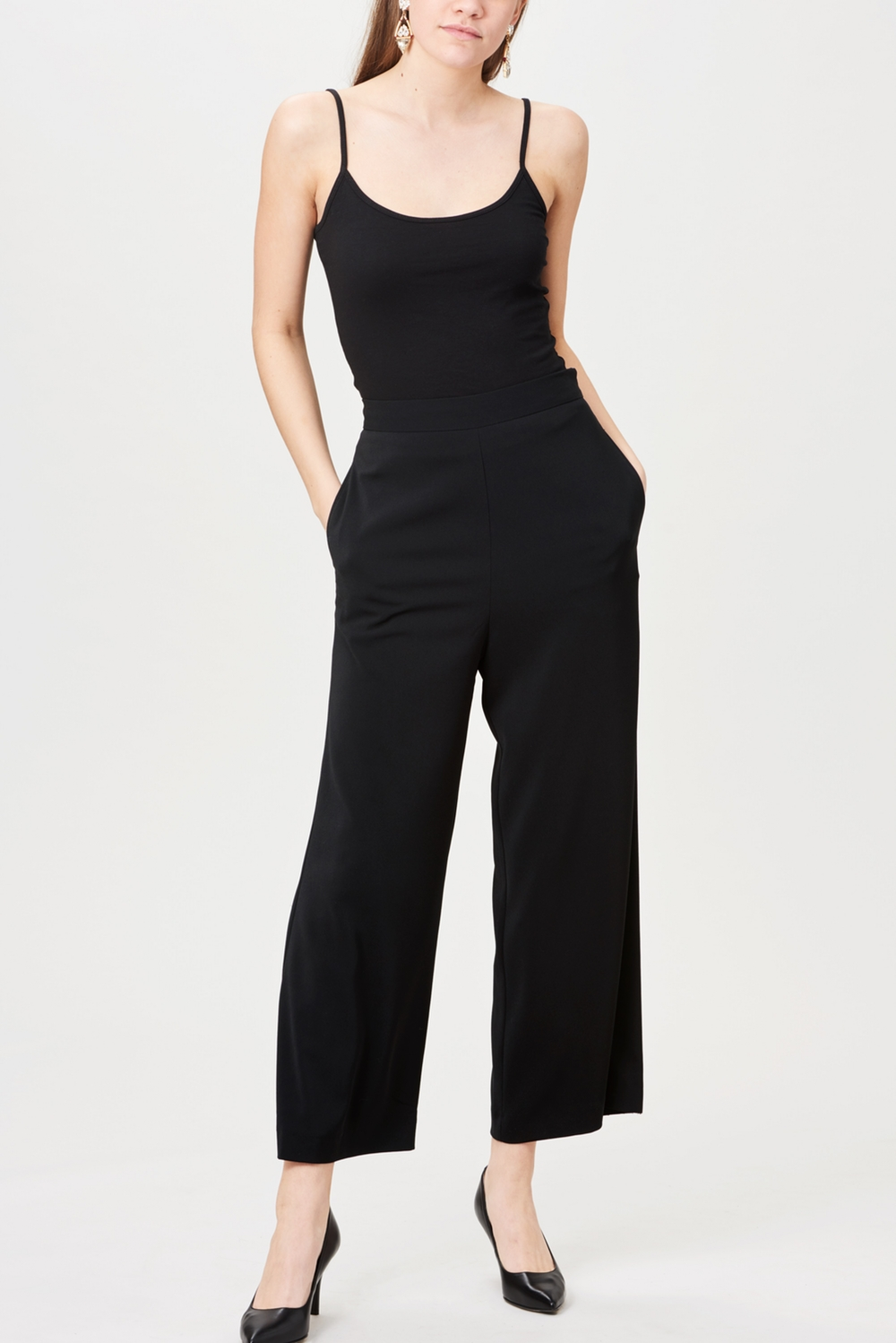 Billie & Me Justine Pants Black Crepe