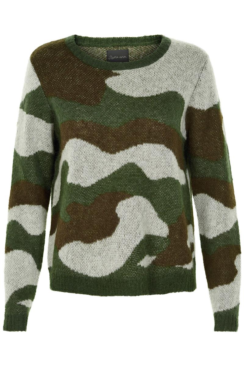 Stella Nova Camouflage Knit