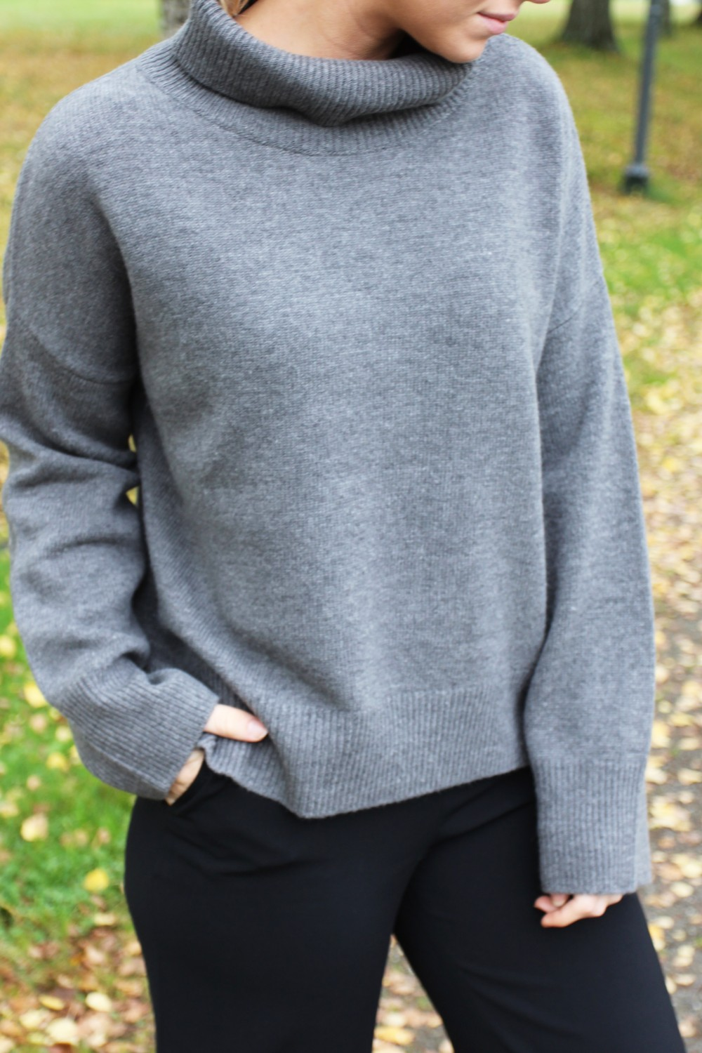 Billie & Me Annilou Sweater Gunmetal