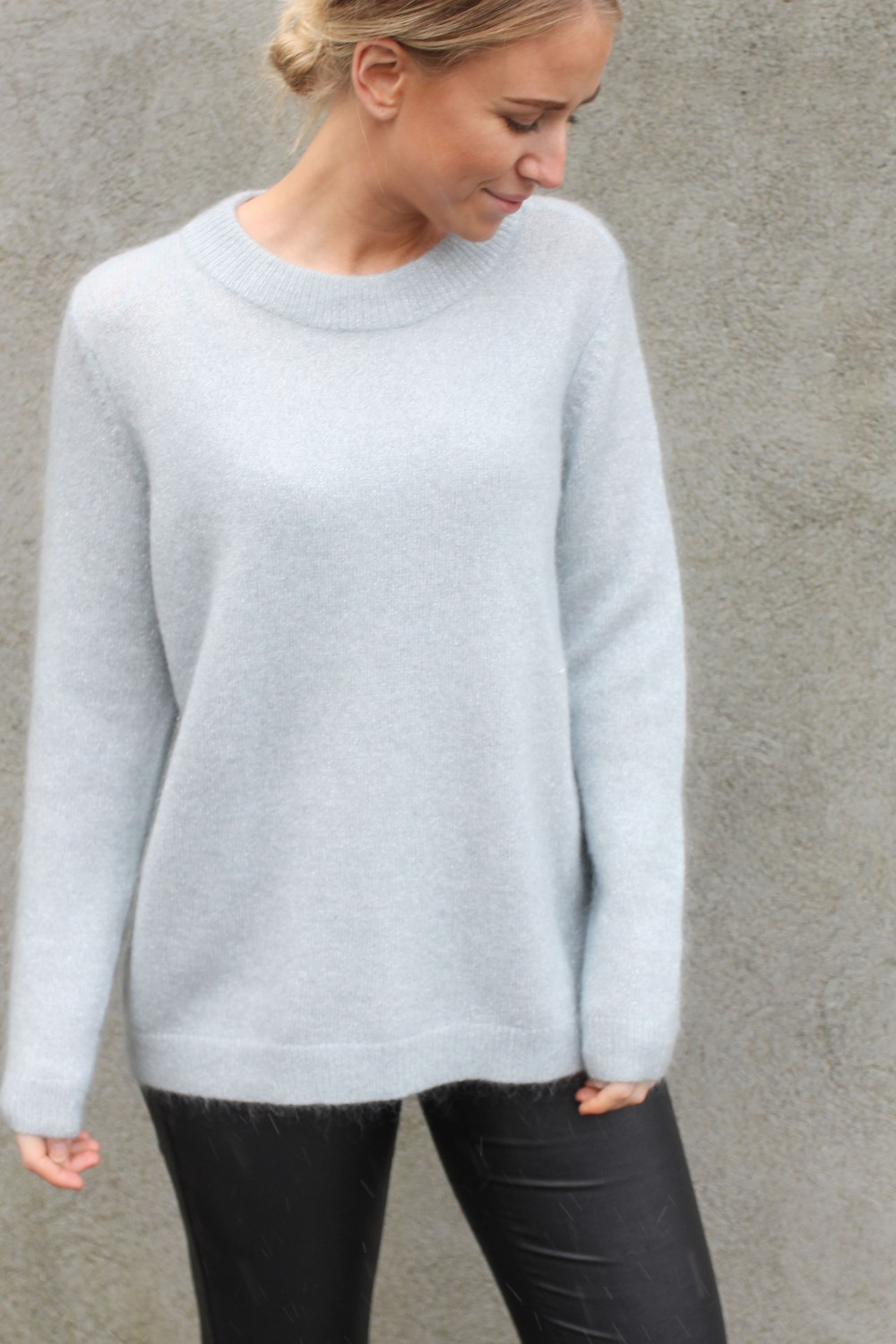 Just Female Chiba Knit Silver Lake