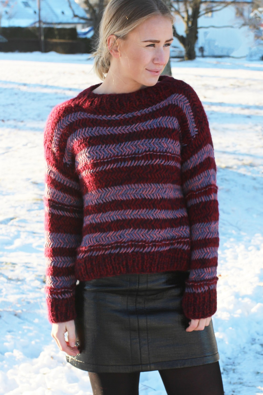 Stella Nova Peruvian Hand Knit Sweater