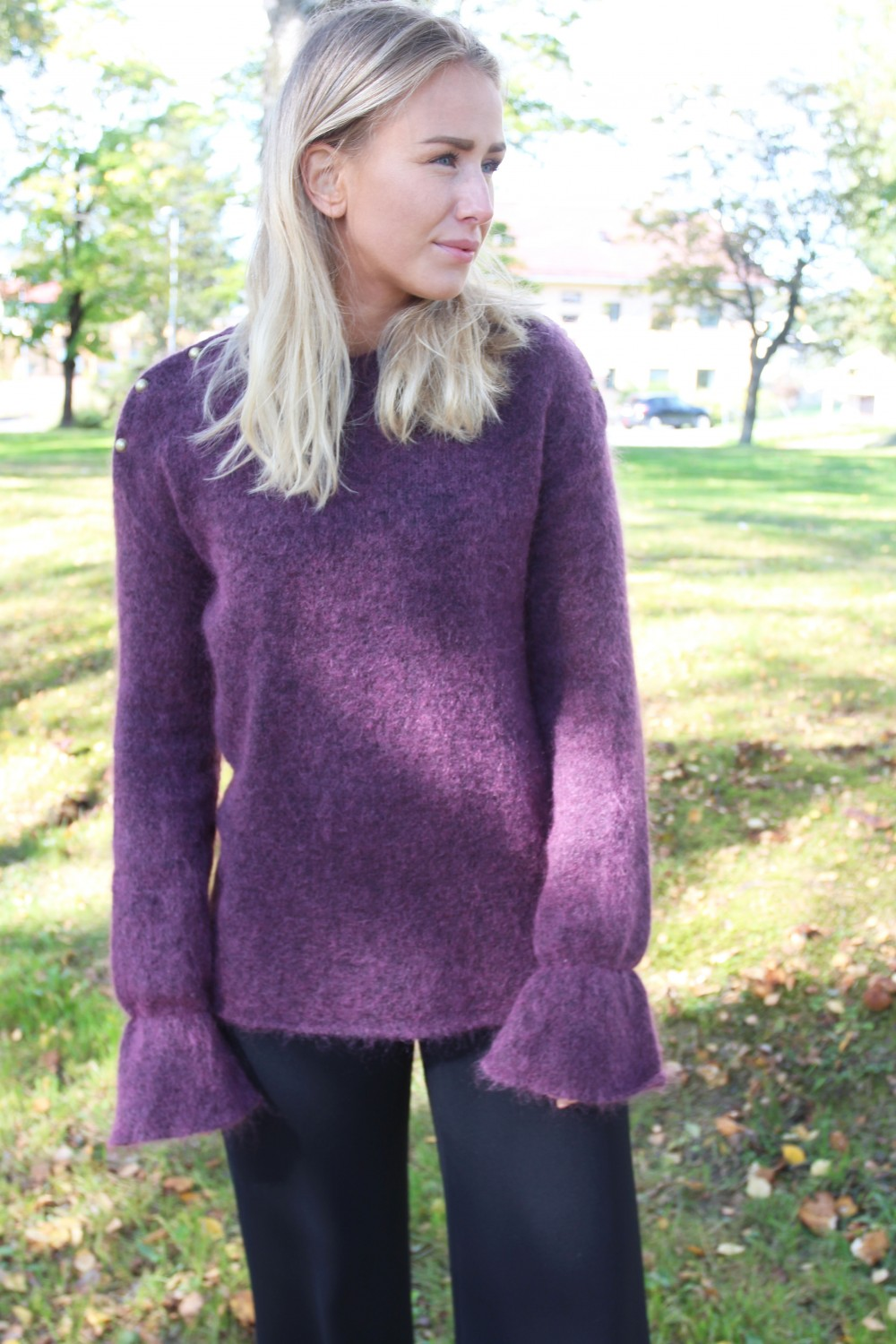 Custommade Cala Knit Plum