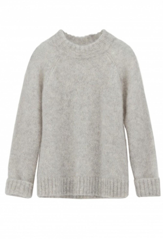 Iben Monty Sweater Light Grey