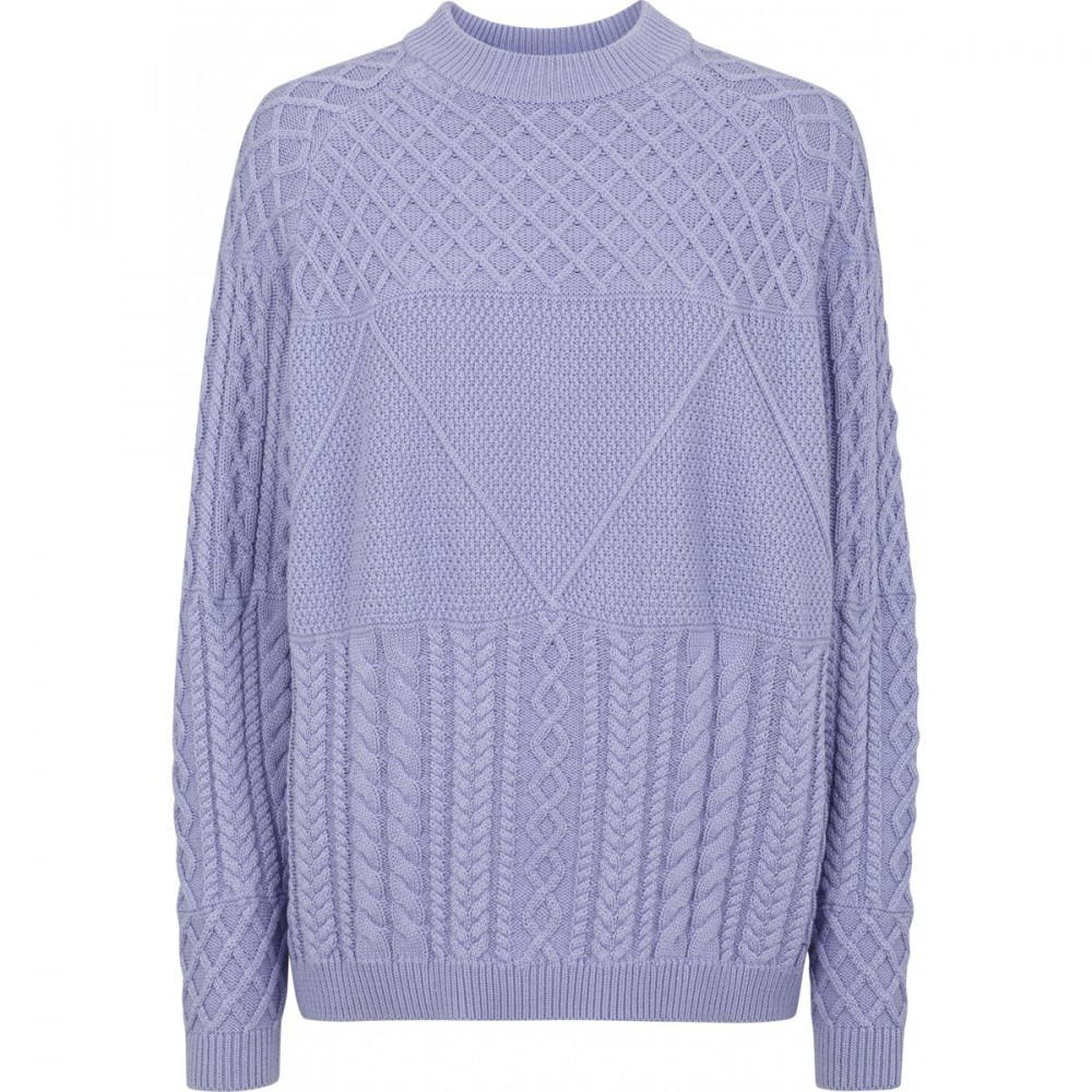 Just Female Turo Cable Knit