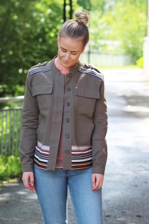 Stella Nova Casual Outerwear Jacket