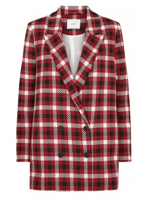 Just Female Holmes Check Blazer