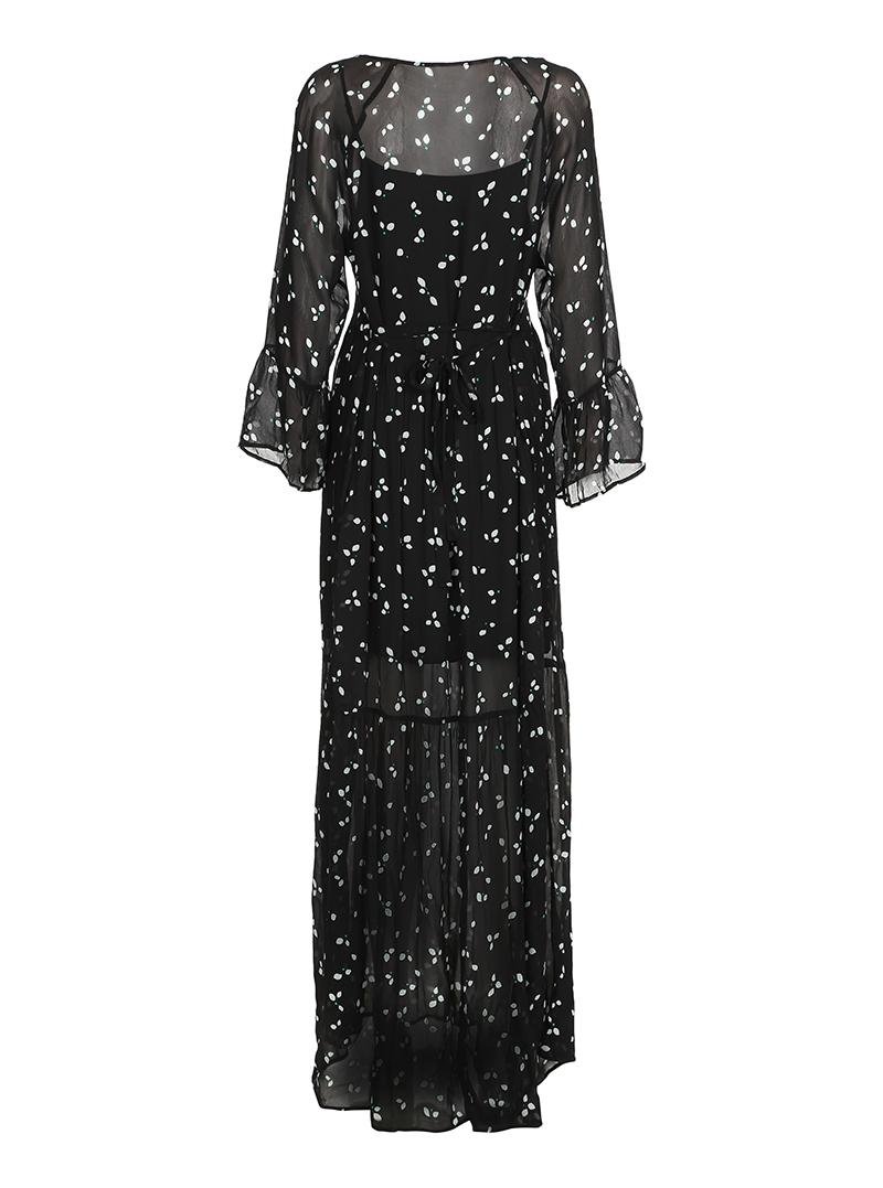 Custommade Katy Dress Jet Black