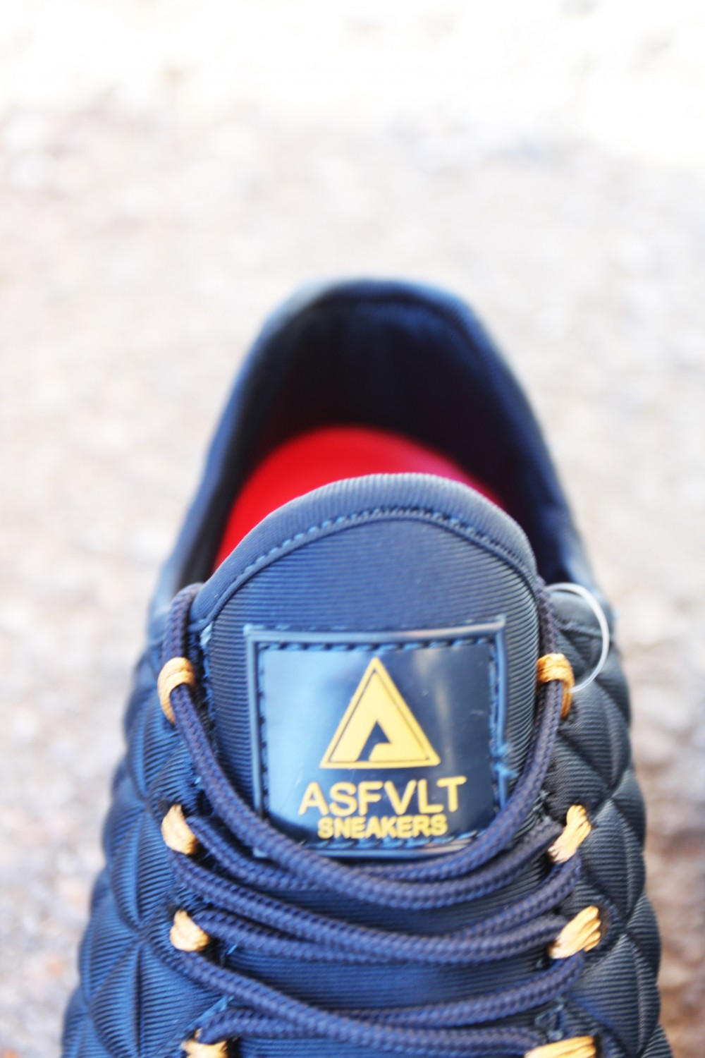 Asfvlt Speed Sock Navy