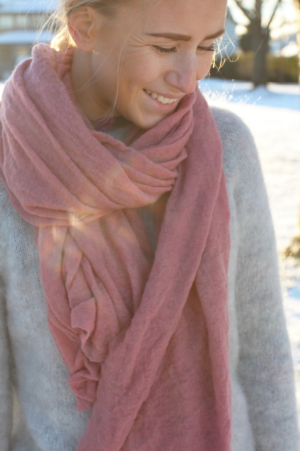 NATURA Cashmere Luxury L Old Pink