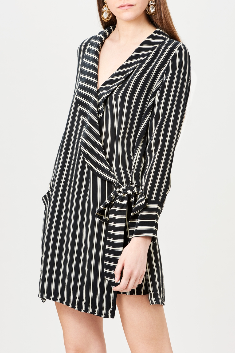 Billie & Me Eugine Dress Triple Striped