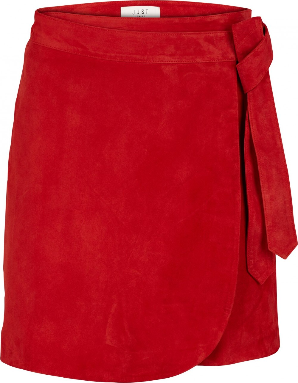 Just Female Coach Skirt Posh Red