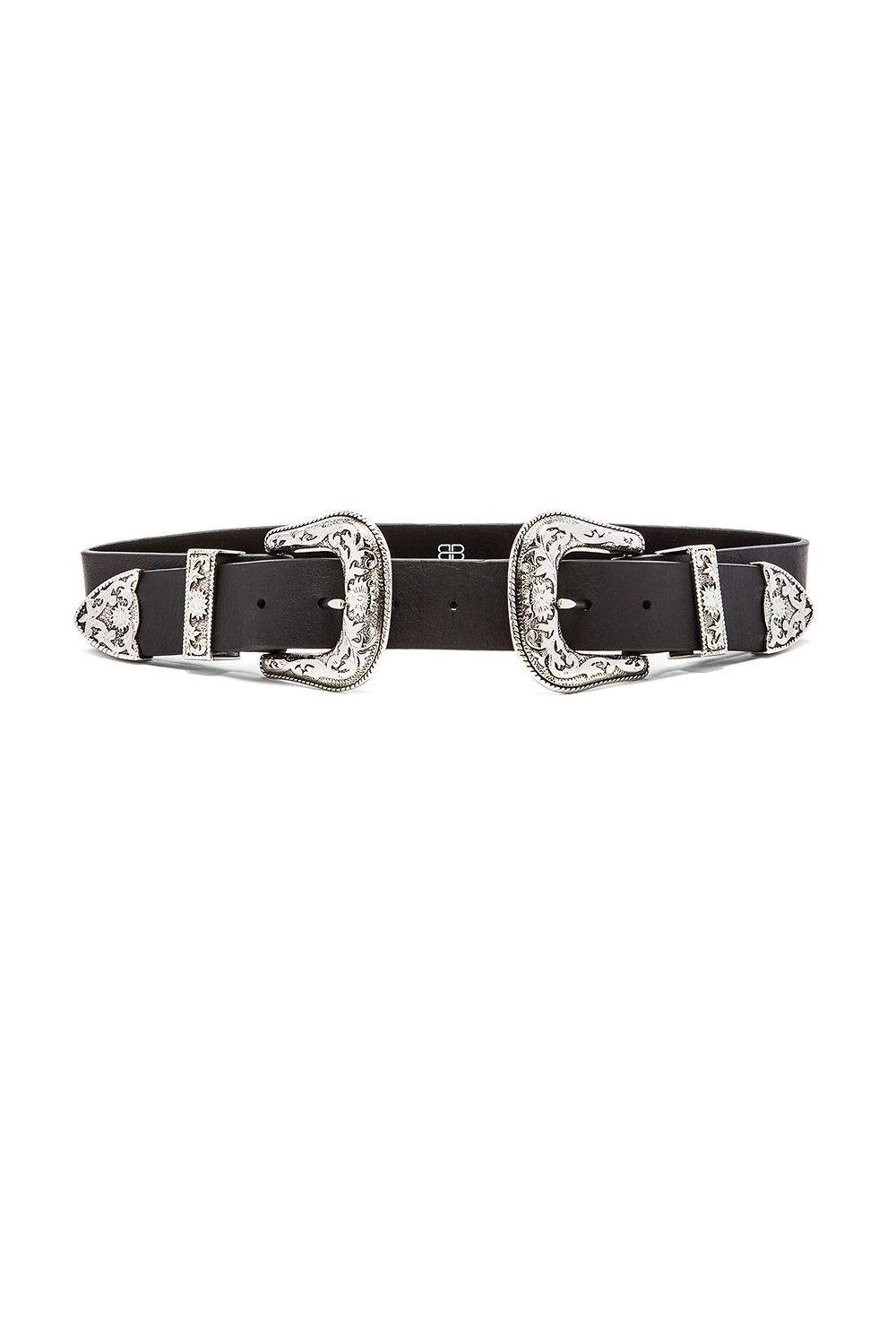 B- LOW THE BELT Bri Bri Black/Silver