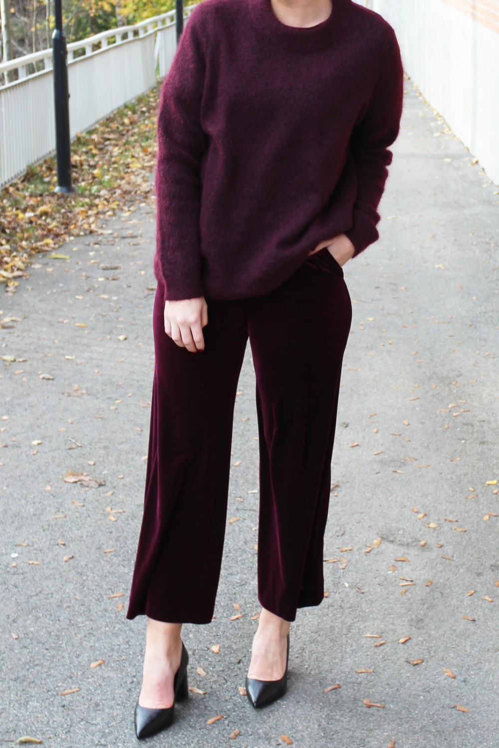 Billie & Me Justine Pants Plum