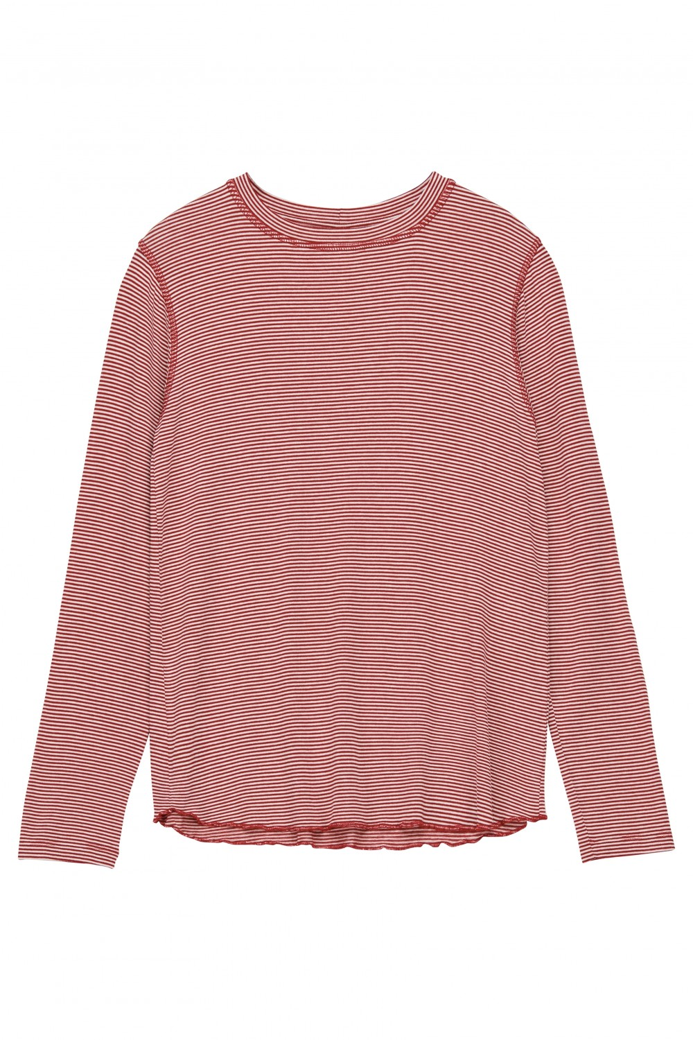 Iben Victor LS Red Striped